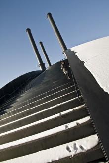 En af trapperne