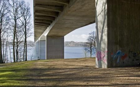 Vejlefjordbroen fra Dyreparken